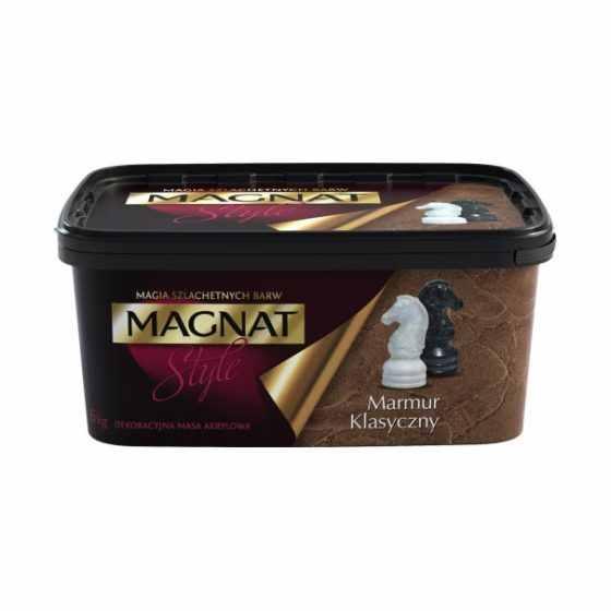Magnat Style Marmur Klasyczny Dekoracyjna Masa Akrylowa 6kg