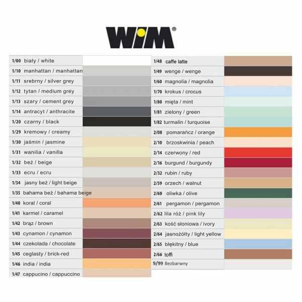 WIM kolory