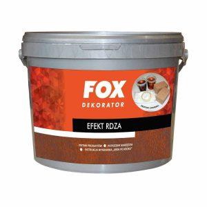 FOX efekt dekoracyjny rdza