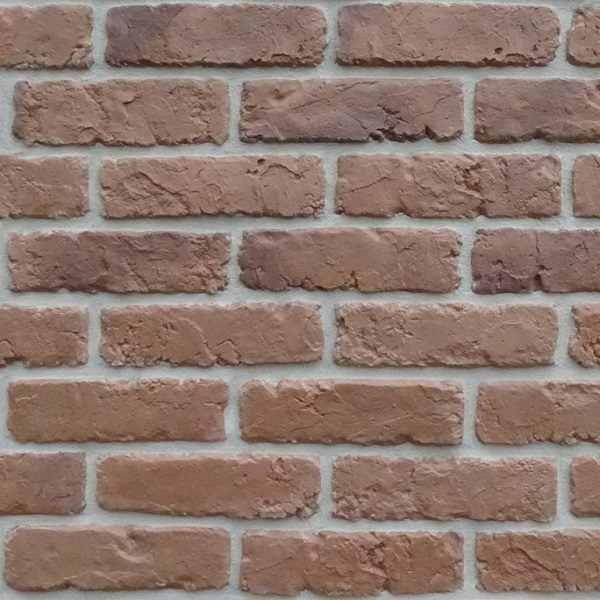 retro brick brown