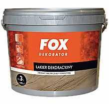 LAKIER DEKORACYJNY - Fox Dekorator